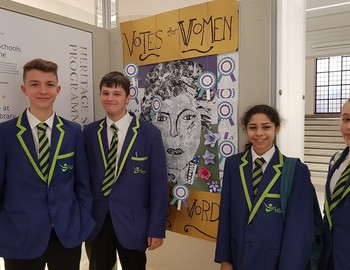 MEA's contribution to Suffrage Art Exhibition