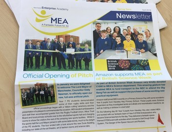 MEA's Spring Term Newsletter