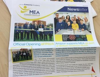 MEA's Spring Term Newsletter