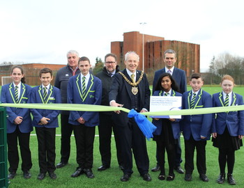Official opening of MEA's new pitch