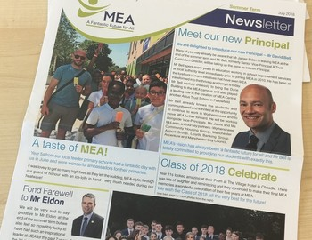 MEA's Summer Newsletter 2018