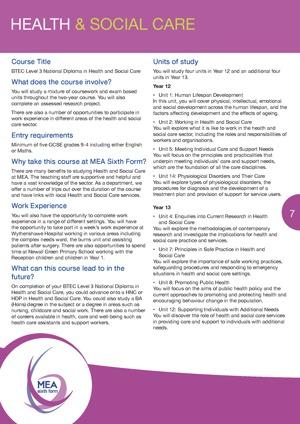 MEA Sixth Form Prospectus May 20 v4 Page 07